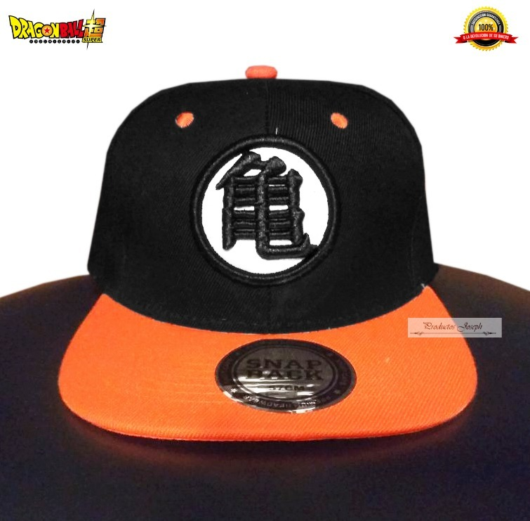 Gorra Dragon Ball Goku Super Logo Bordado Calidad Premium -   165.00 ... 7f0fee50268
