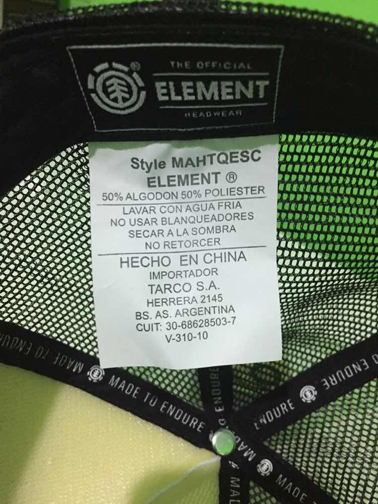 gorra element seal 2 100% original. Cargando zoom. 0729335f600