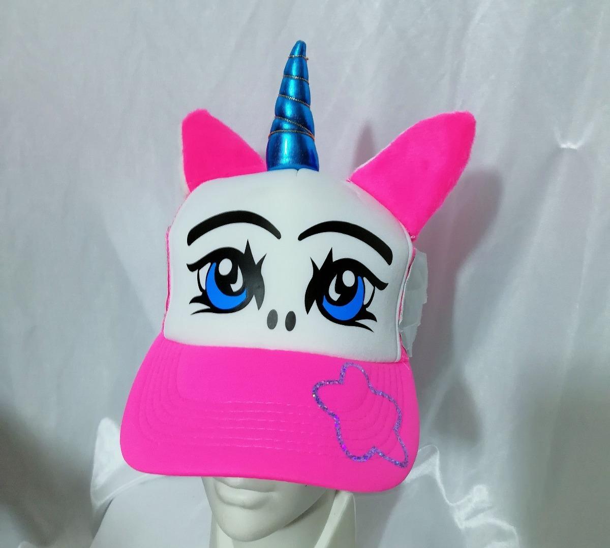 Gorra Estich Azul Picachu Sailor Moon Unicornio Totoro Panda ... bd4b7186ea1