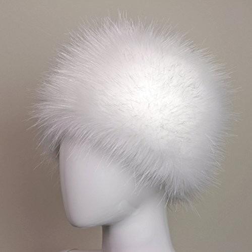 gorra estilo futrzane faux fur cossak ruso sombrero de marc