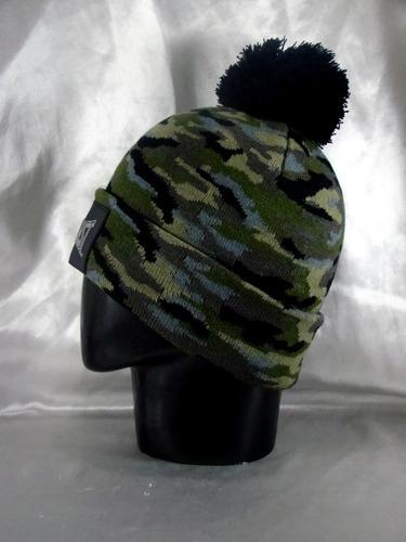 gorra everlast box beanie camuflado invierno muy abrigado