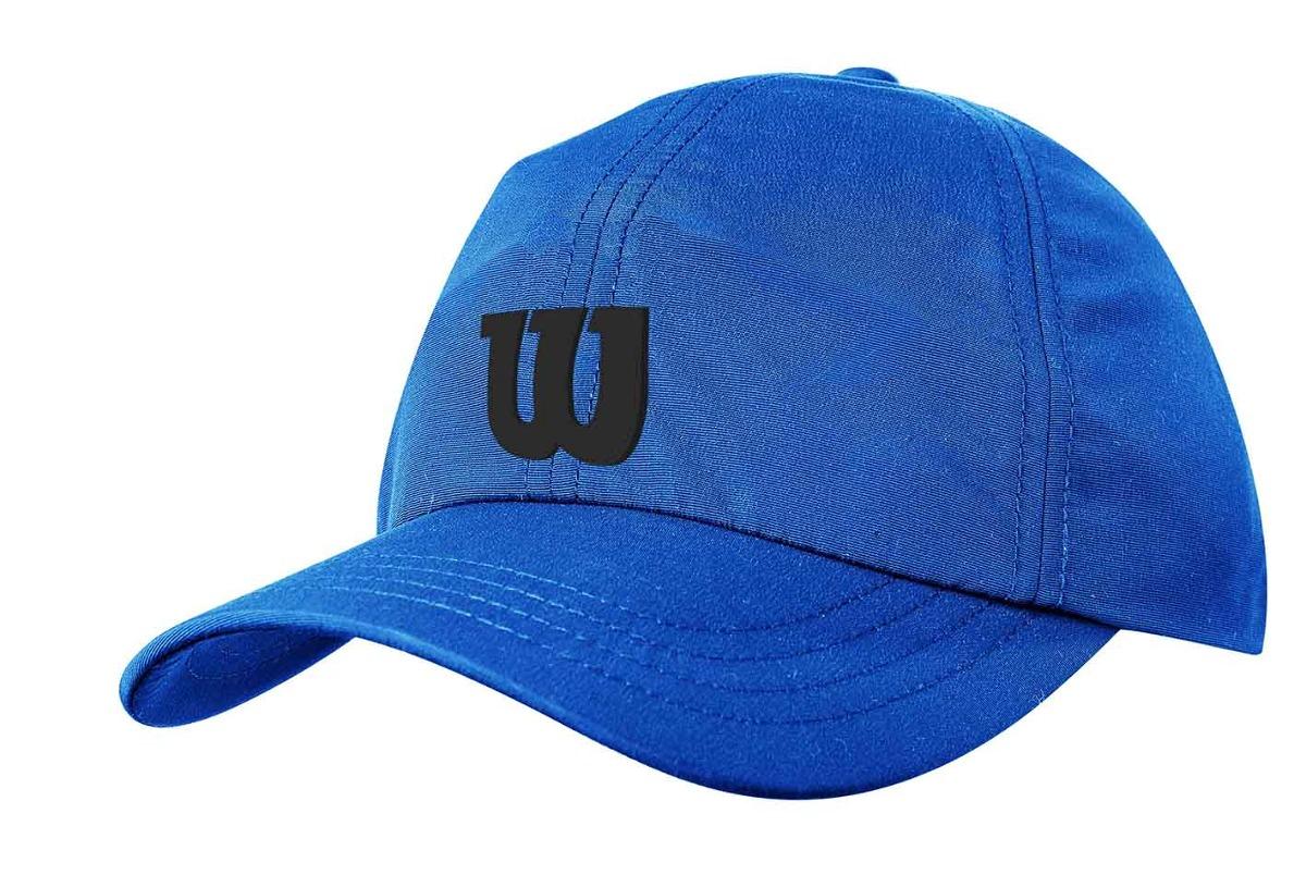 Gorra Femenina Wilson - Bone Logo W Azul negro - Tenis - S  39 65b42aa494e