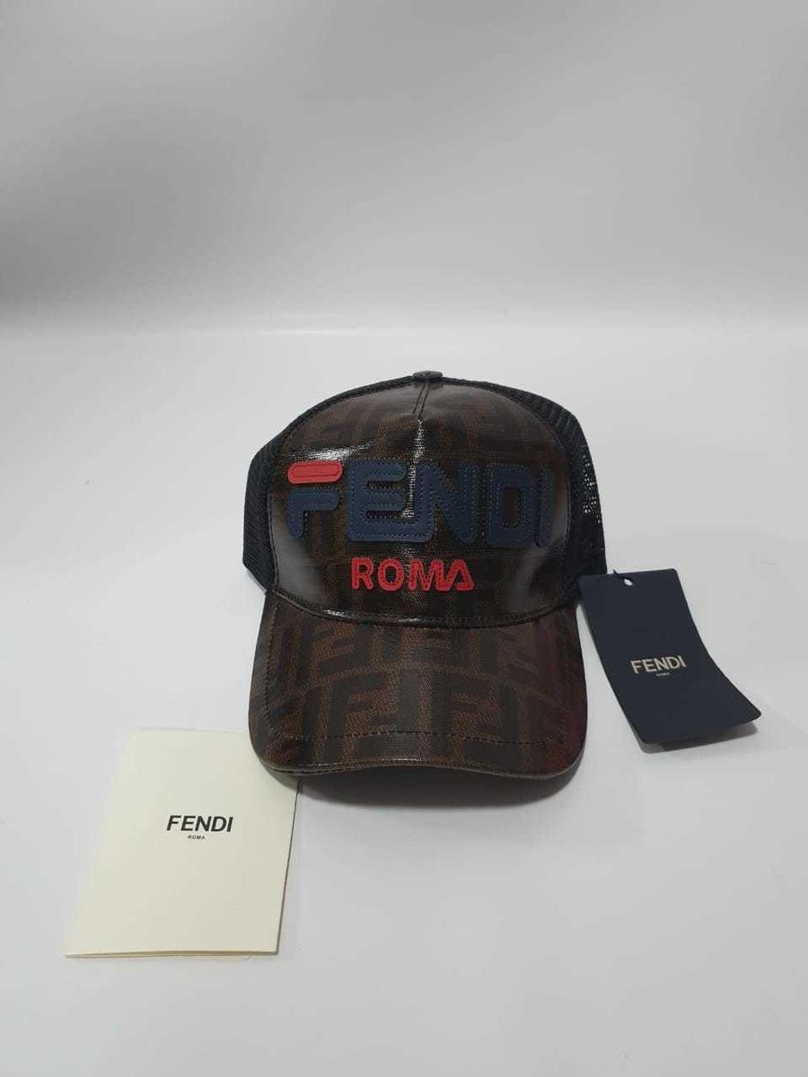 91b07b84ee85 Gorra Fendi Roma 2019