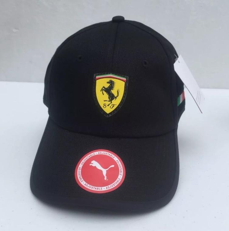 e67bb7c1848e2 Gorra Ferrari Puma Negro 100% Original -   635.00 en Mercado Libre