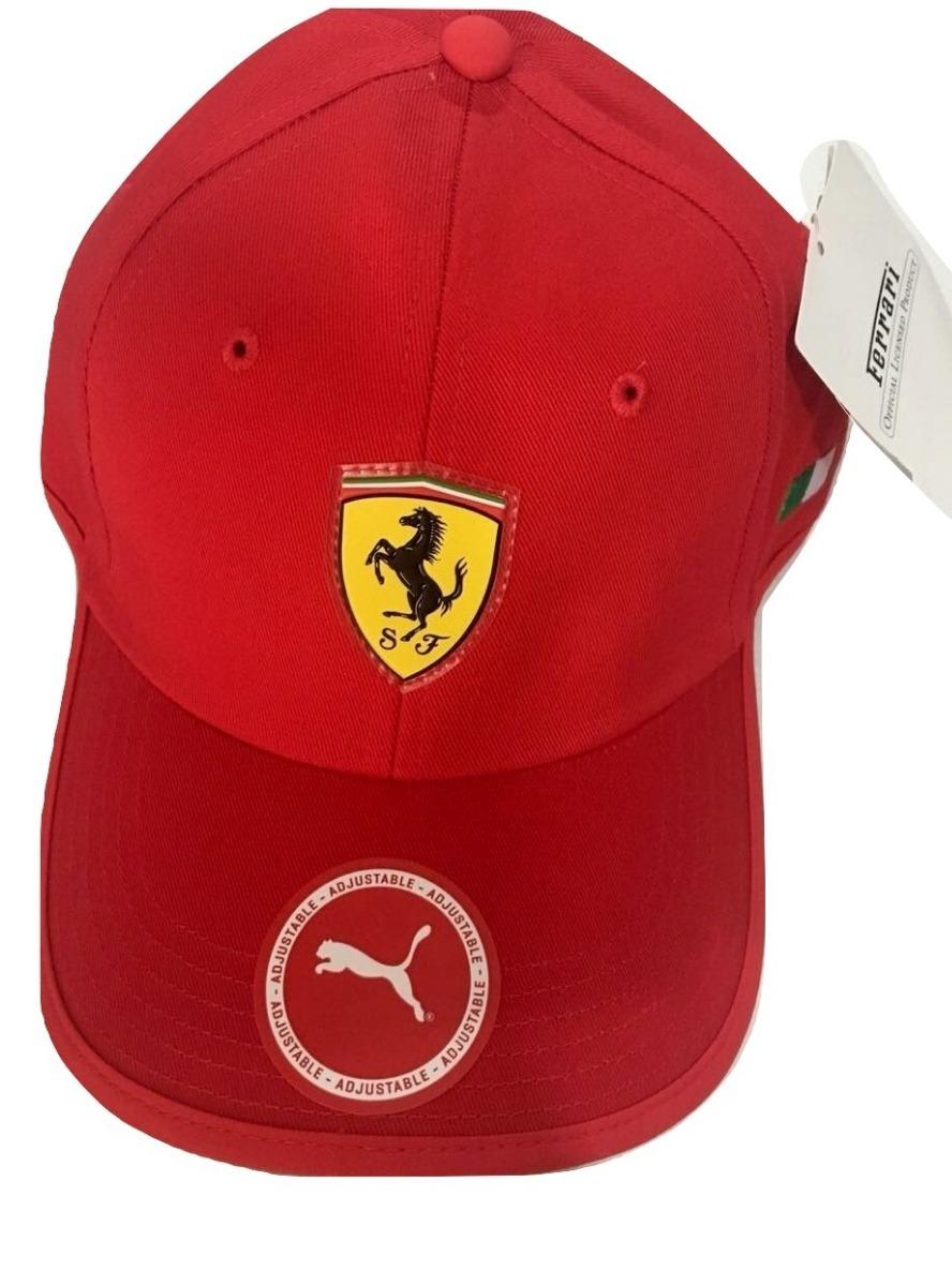 71984a4aab7c8 Gorra Ferrari Puma Negro Y Rojo 100% Original -   650.00 en Mercado ...