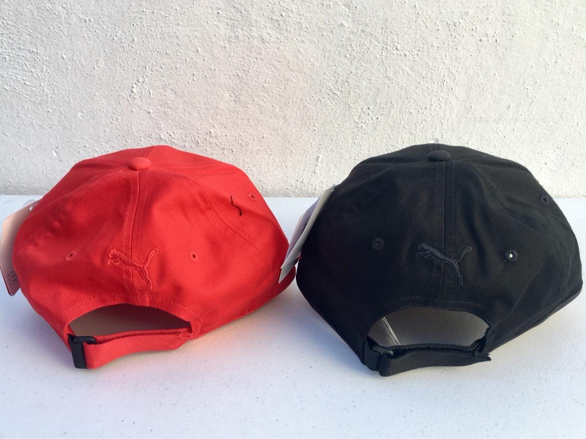 91e0c8a81d222 Gorra Ferrari Puma Negro Y Rojo 100% Original -   650.00 en Mercado ...