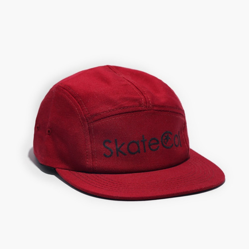 gorra five panel skatecol - vinotinto