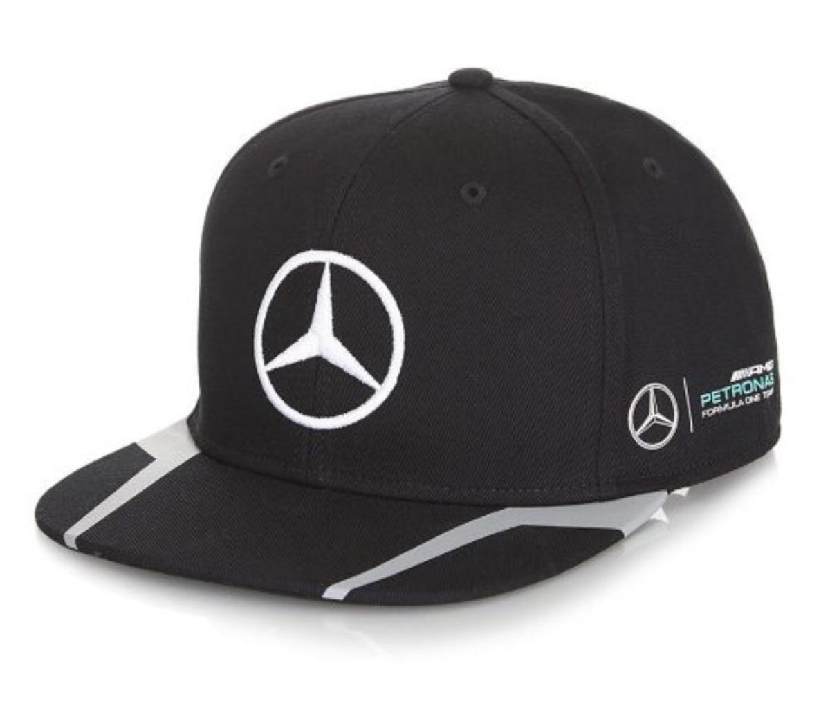429901173b2b5 Gorra Flat Mercedes Petronas De Lewis Hamilton Temporada 201 ...