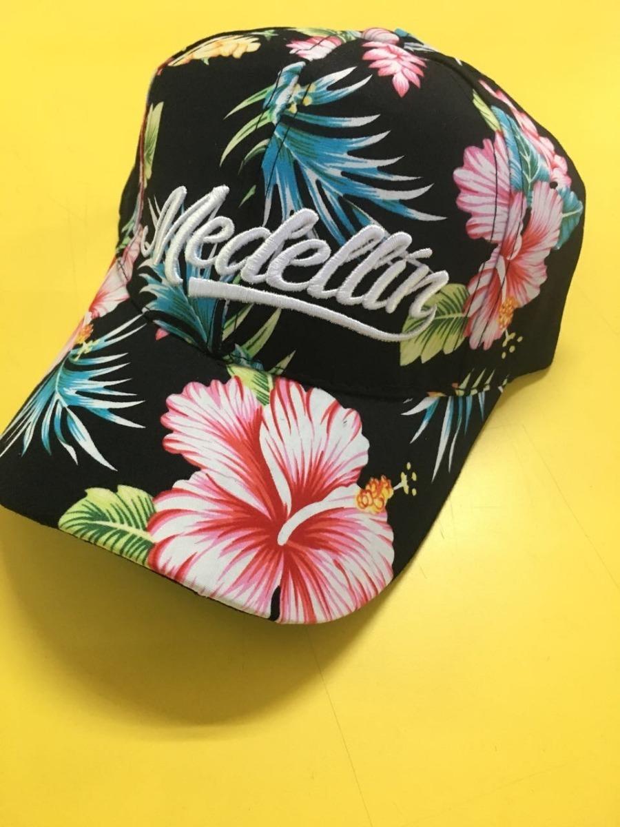 gorra flores medellin en poliester con bordado alto relieve. Cargando zoom. 5336c7c4763