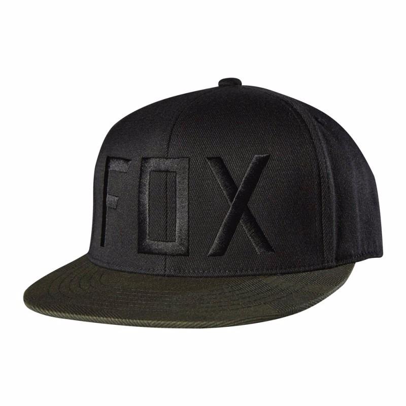 gorra fox column 210 fitted hat 14724-001 negro para hombre. Cargando zoom. 518a162e512