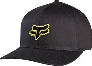 gorra fox racing legacy 2014 hombre flexfit neg/amar. sm/md
