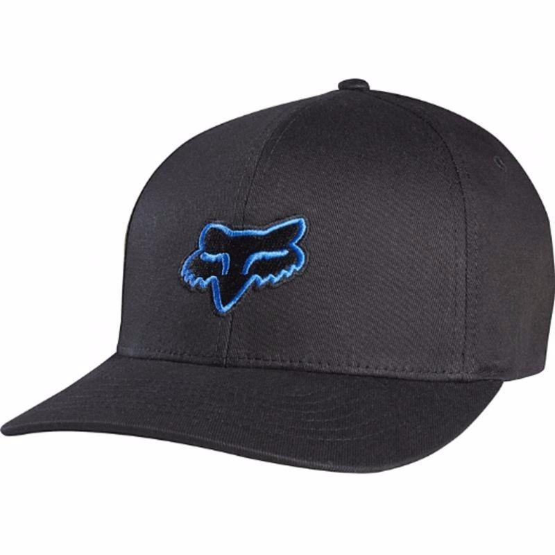 gorra fox racing negro azul flexfit talla s m motos original. Cargando zoom. 7007da24eeb