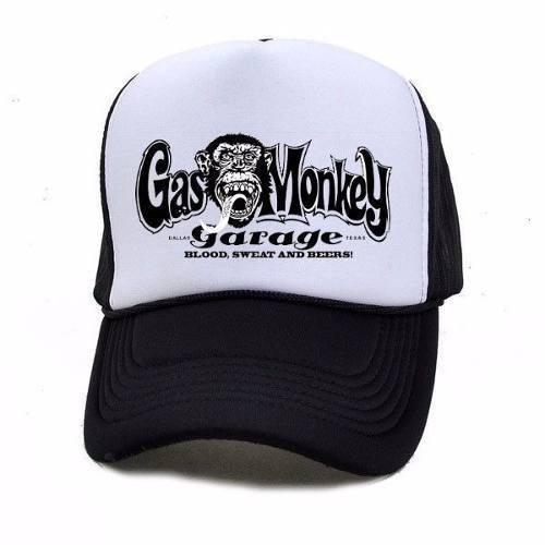 b114b0ff268 Gorra Gas Monkey Garage Trucker Promo 5x6 Diseños Unicos! - $ 299,00 ...