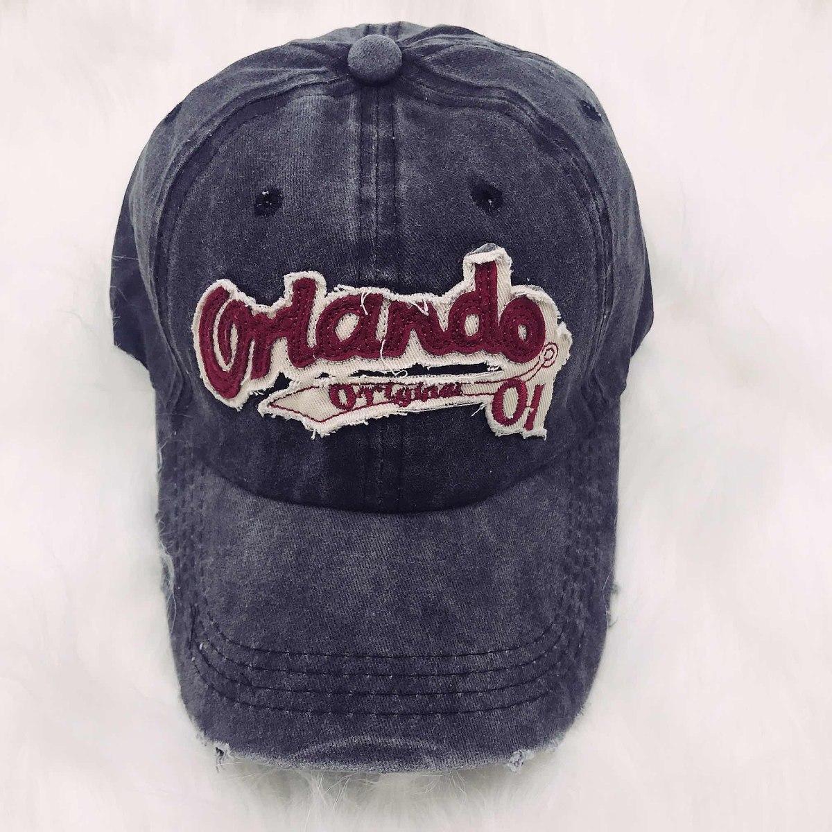 Gorra Gastada Orlando Jeans Unisex Ajustable Vintage -   522 e01a17fbeaa