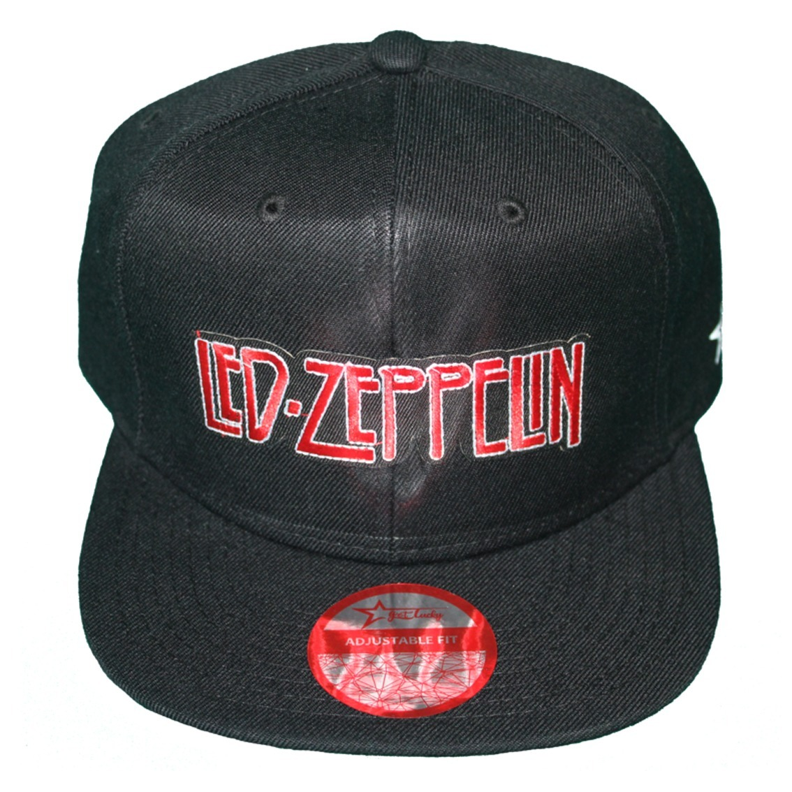Gorra Get Lucky Led Zeppelin Snapback Algodon Plana Calidad ... 8ff23e184c2