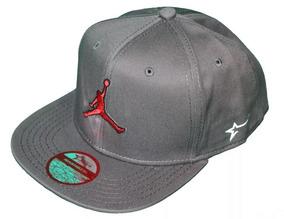 bcde57e857b7 Gorra Get Lucky Snapback Logo Jordan Algodon Original Plana