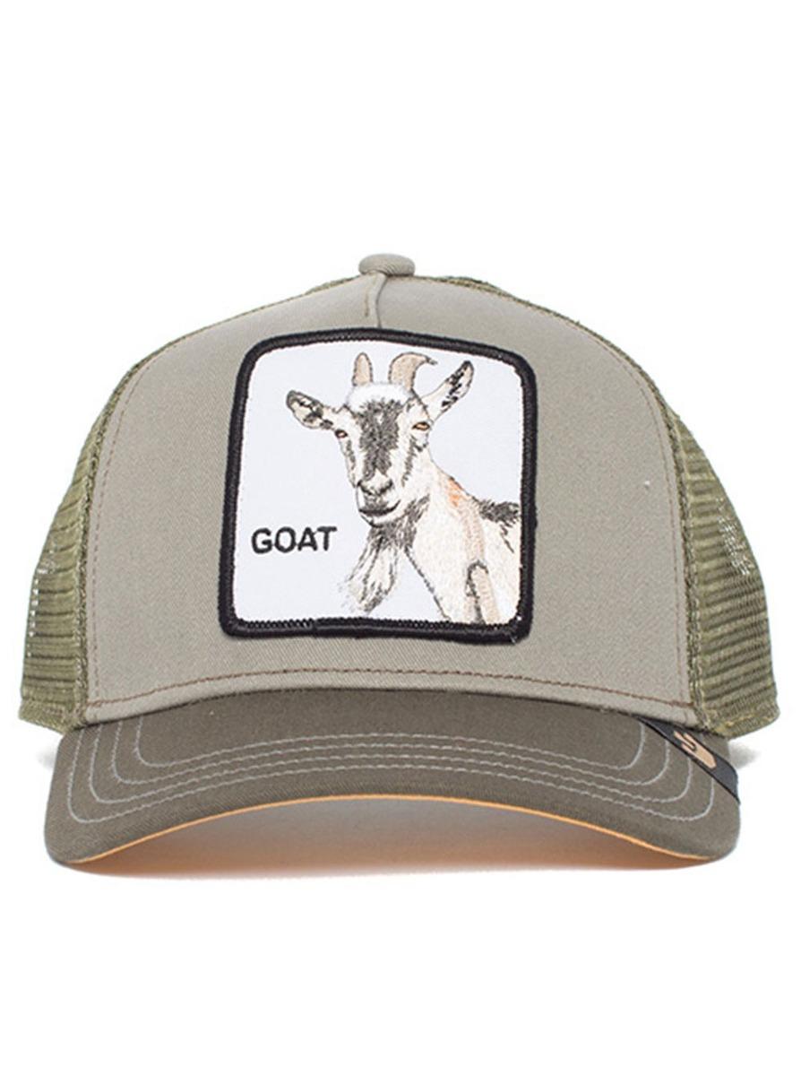 Gorra Goorin Bros Dise?o Cabra Con Barba Para Hombre - $ 645.74 en ...