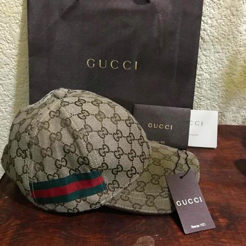 gorra gucci 100% original modelo clásico