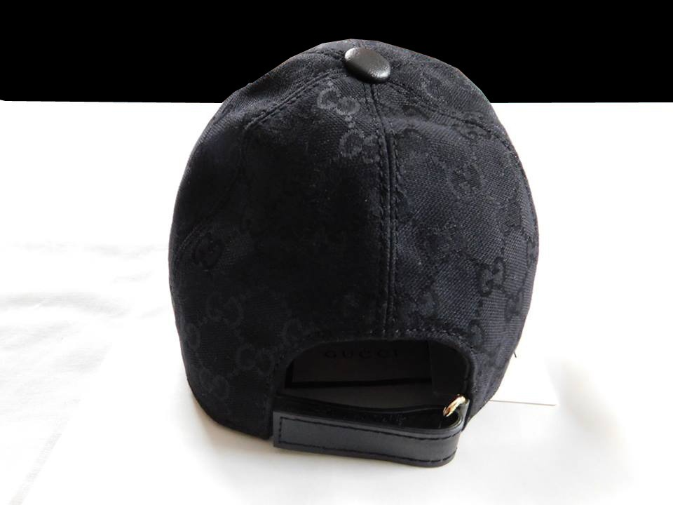 0f8c2bc3024b4 Gorra Gucci 2017-18 Original Made In Italy Original Negra -   3.500 ...