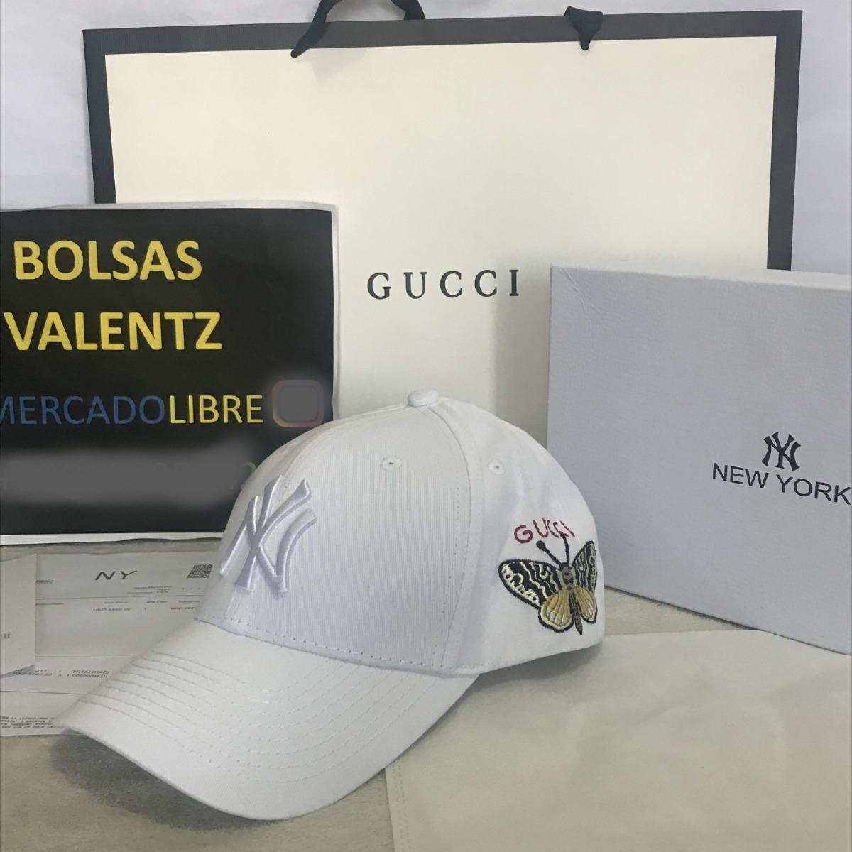 Gorra Gucci Ny Yankees New York En Caja Nuevas Gg Factura ... 0bd3b5994b0