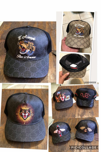 gorra gucci tigre serpiente gato abeja 7 modelos