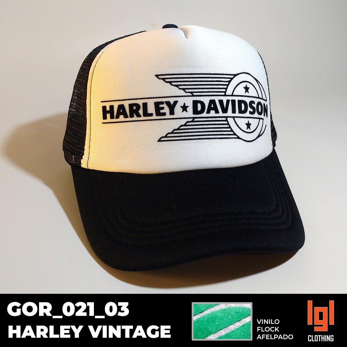 Gorra Harley Davidson Estampa Afelpada - No Sublimada!!! -   250 a9a701ddd4e