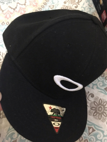 gorra hombre snapback oakley nueva, original, regulable