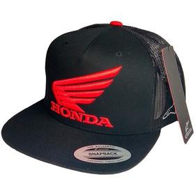 Gorra Honda Alpinestars Wing Original - Mobi Motos