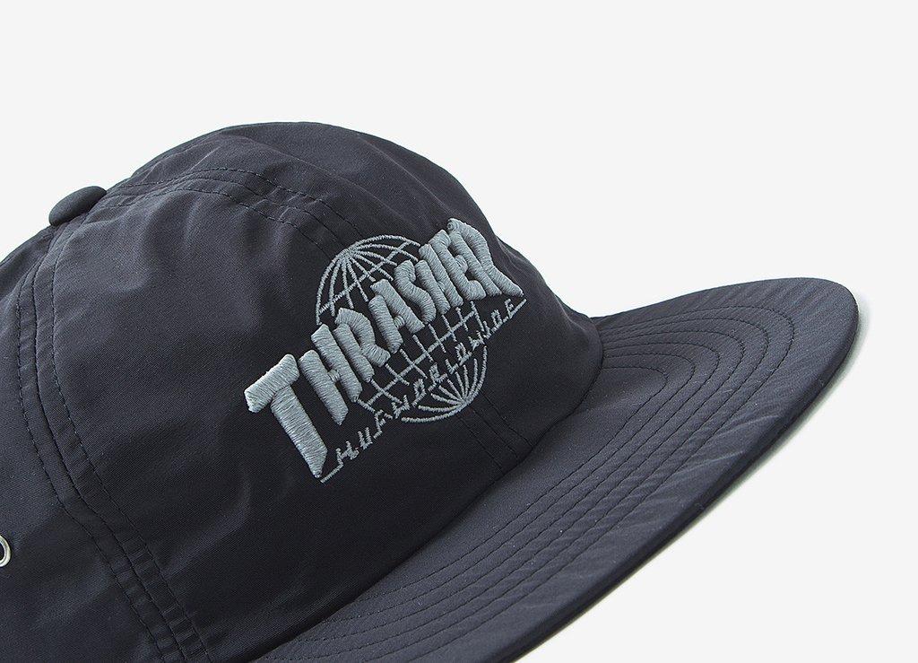 gorra huf x thrasher tds strapback black original snapback. Cargando zoom. e7d31514729