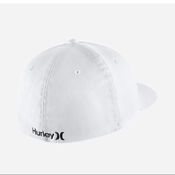 Gorra Hurley Corp Original Delta Visera Curva S m Blanco-ne ... 64ce662d1c4