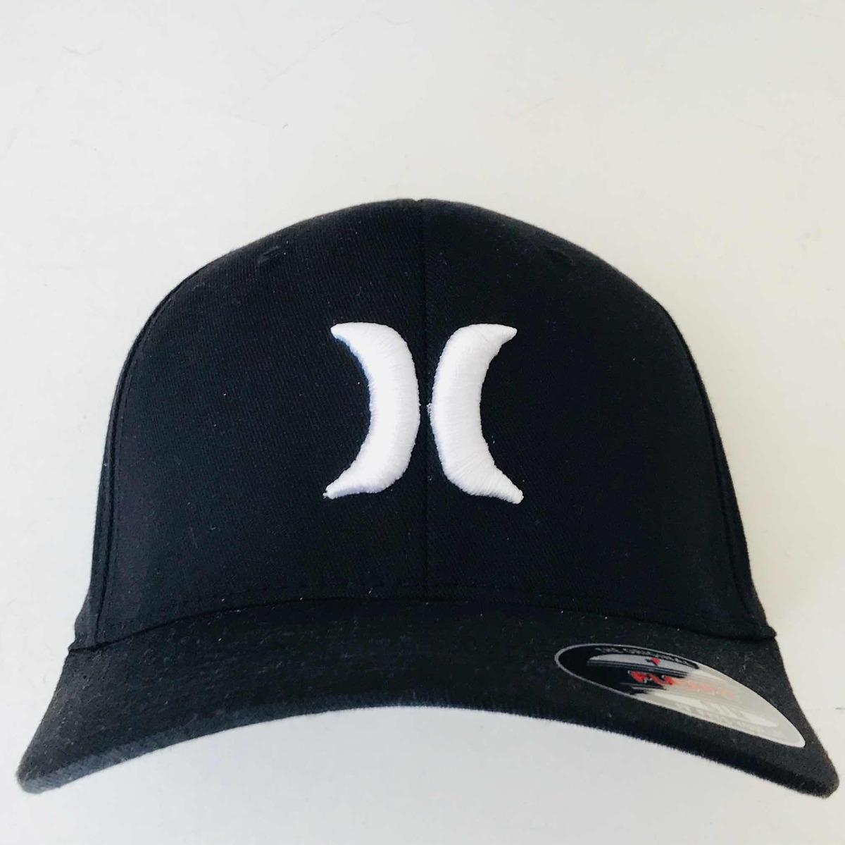 Gorra Hurley Negra Flexfit -   499.00 en Mercado Libre 269dfc9c81f