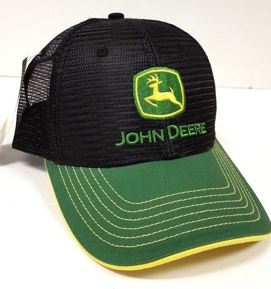 87ef3f02a22eb gorra john deere green twill visor black - a pedido exkarg. Cargando zoom.