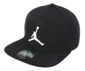 4b08c1222a7f Gorra Jordan Jumpman (black & White) Snapback Hologram Full