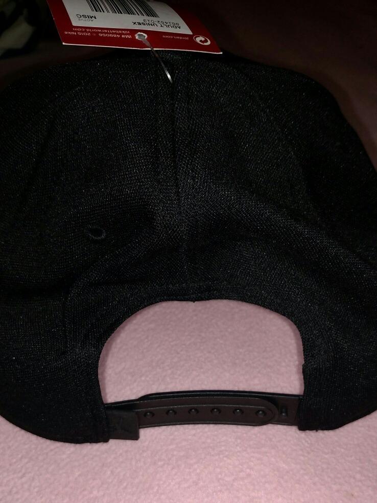 1ad68e8f2e7e0 gorra jordan jumpman snapback black con holograma original. Cargando zoom.