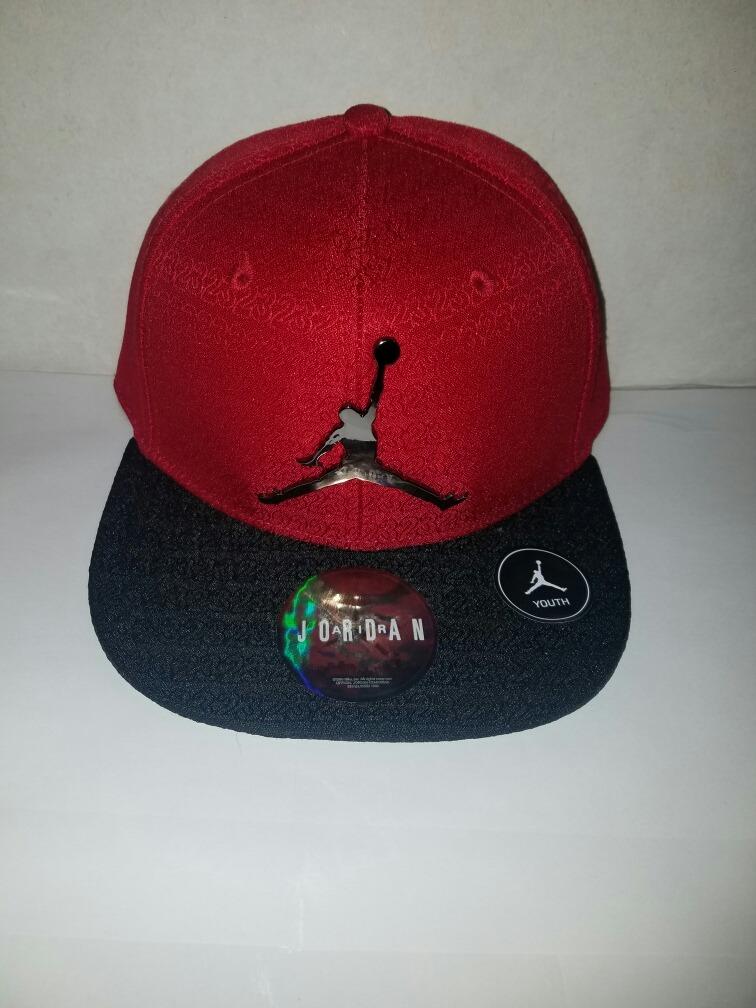 b87c47e00 Gorra Jordan Para Niño Roja Y Negra Unitalla -   549.50 en Mercado Libre