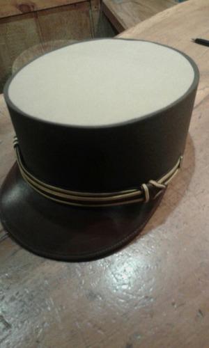 gorra kepi de sub oficial de gendarmería antigua caballería