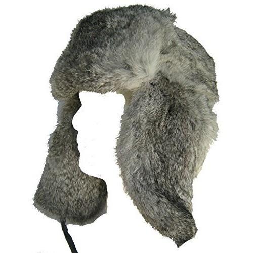 gorra klondike sterling rabbit fur rusa trooper sombrero de