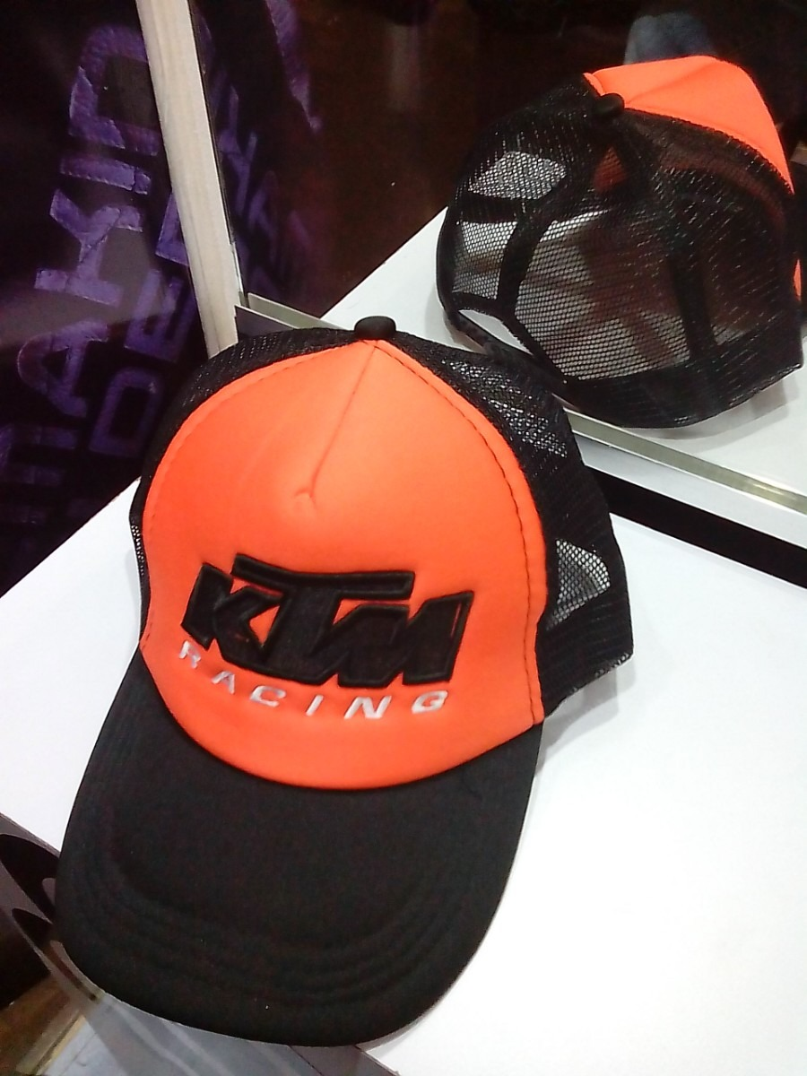 gorra ktm racing maya malla moto mx negro naranja. Cargando zoom. 8837a8eebb4