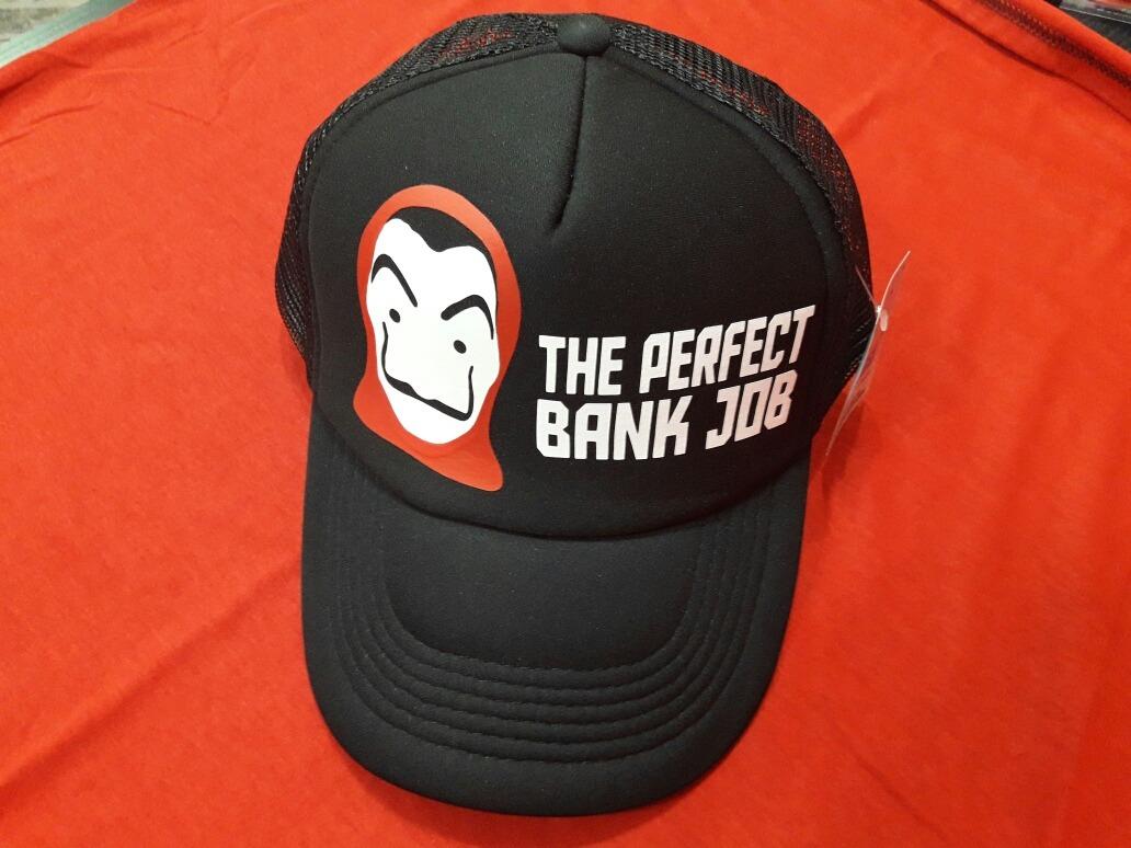 Gorra La Casa De Papel Perfect Bank Job Original Netflix -   499 5b325f94b1d