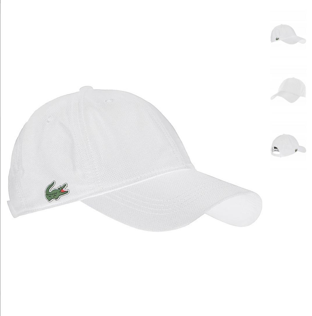 963895d9e Gorra Lacoste Original Logo Chico Tenis Golf Novak Cachucha ...