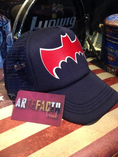 gorra logo batman