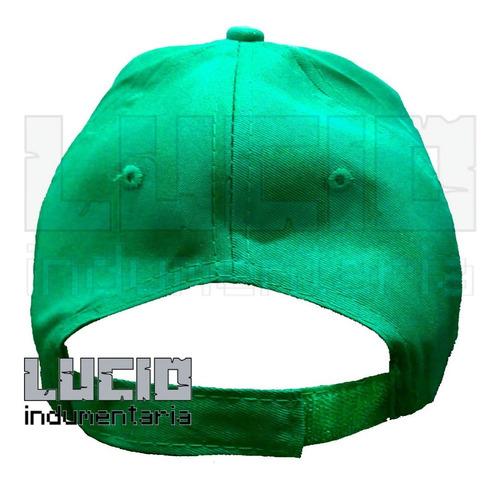 gorra luigi mario bros ajustable