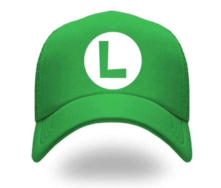 Gorra Luigi Mario Bros 1a132f4a683