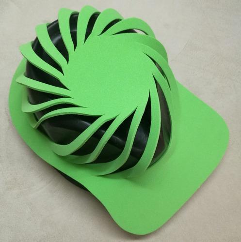 gorra magica goma eva de colores económica para cotillón