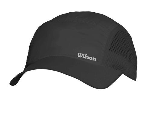 gorra masculina wilson - bone blade ii negro - tenis