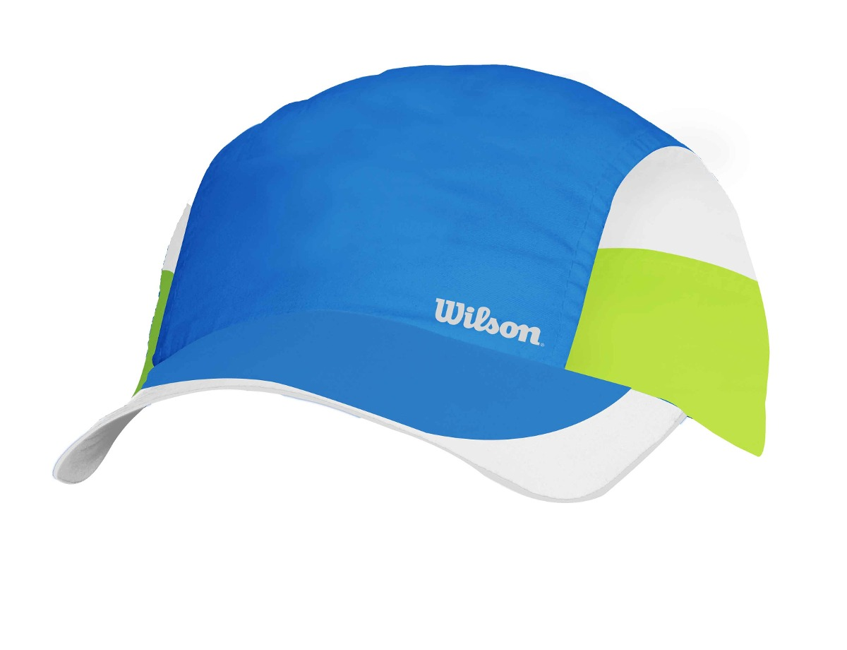Gorra Masculina Wilson - Bone Tour Az Azul verde blanco - Te - S  39 ... d8410b875e3