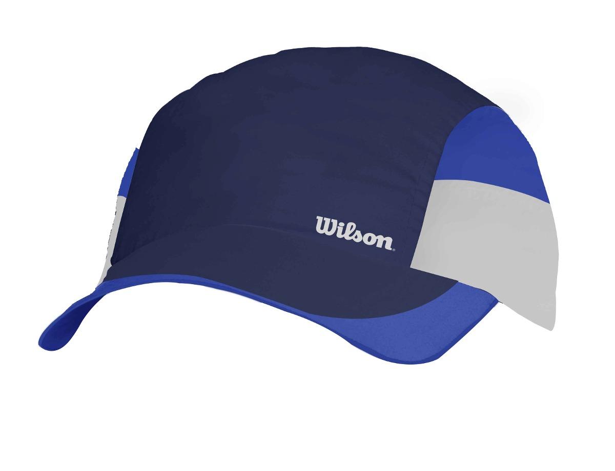 Gorra Masculina Wilson - Bone Tour Mr Azul azul - Tenis - S  39 f63808532ad