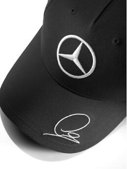 Gorra Mercedes Amg Petronas F1 2015 Lewis Hamilton Negra Cva ... 62b5dc45c30