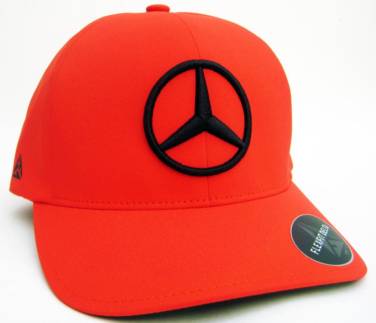Gorra Mercedes-benz Original Delta Lewis Hamilton F1 Rojo-n ... 5c9db6864d4