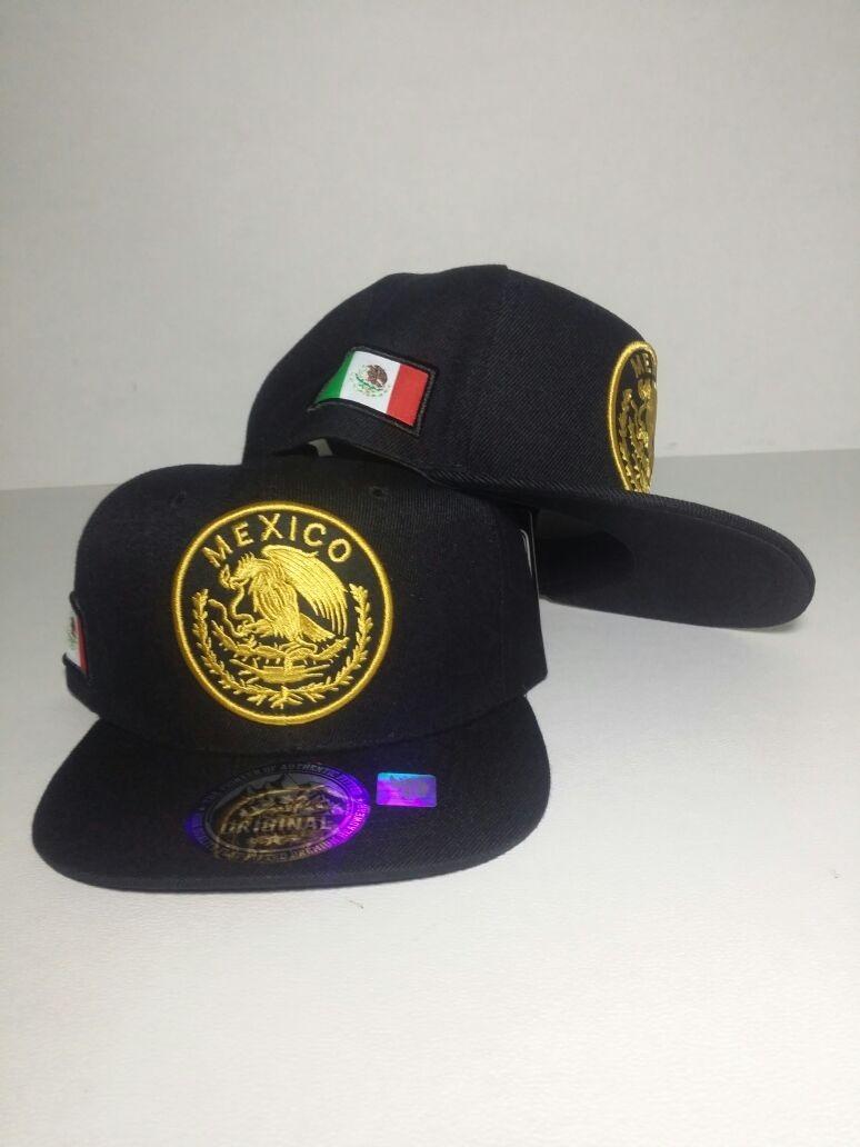 gorra mexico escudo nacional bandera snapback ajusta negro d. Cargando zoom. 5666398d1a0